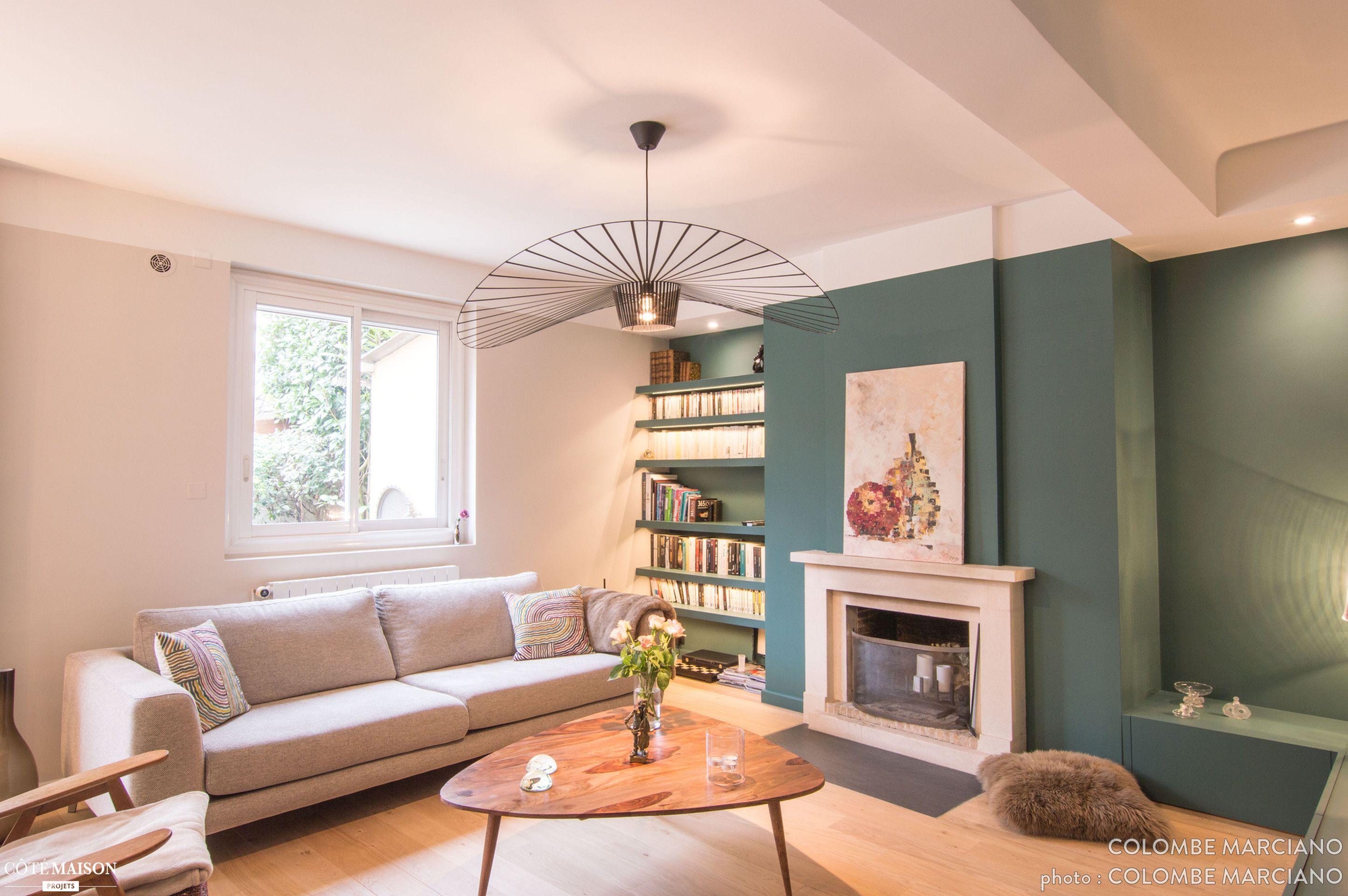 une maison lyonnaise r nov e par la d coratrice colombe marciano maison de r ve par c t. Black Bedroom Furniture Sets. Home Design Ideas