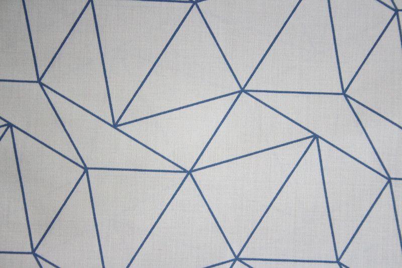 Stoff Grafische Muster Stoff Aus Baumwolle