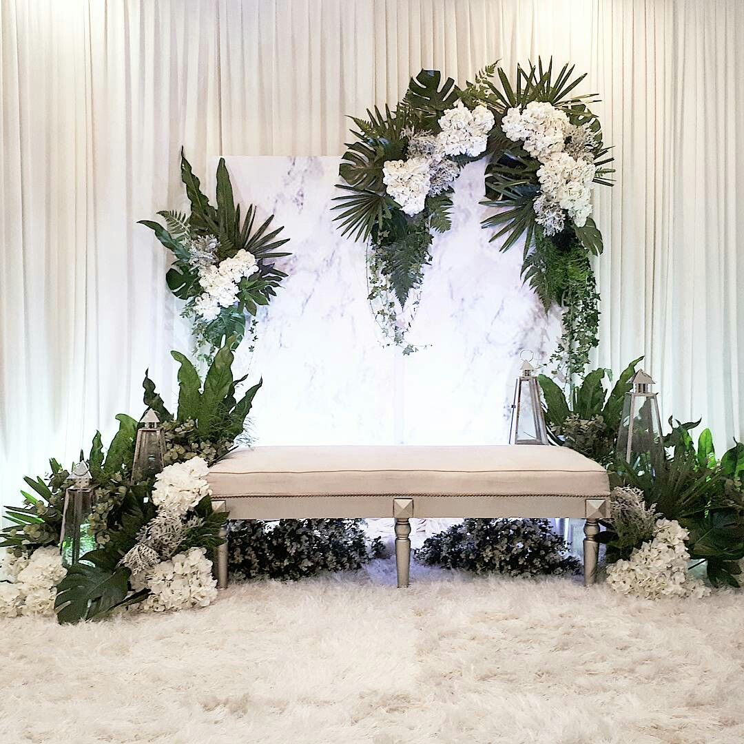 Wedding Nikah Simple Backdrop Decoration Muslim: Pin By TUSCAN DESIGN On Best Commitment Ceremony In 2019