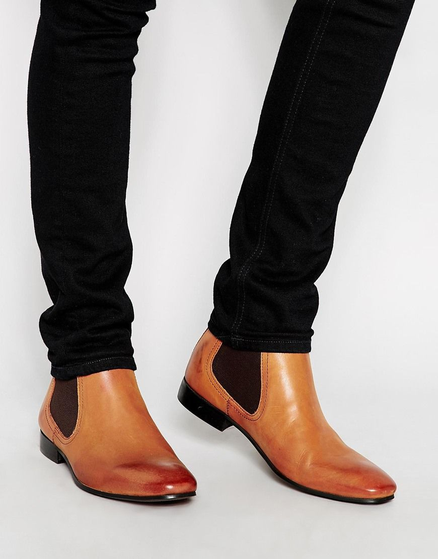 asos bottines chelsea en cuir chaussures pinterest bottines chelsea en cuir bottines. Black Bedroom Furniture Sets. Home Design Ideas