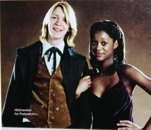 Fred weasley angelina johnson fanfiction erotica
