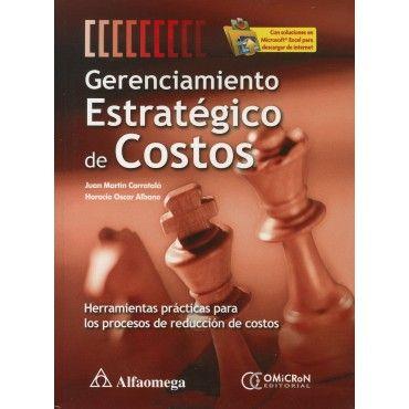 Caratula De Gerenciamiento Estrategico De Costos Contabilidad Y Finanzas Gestion Empresarial Finanzas