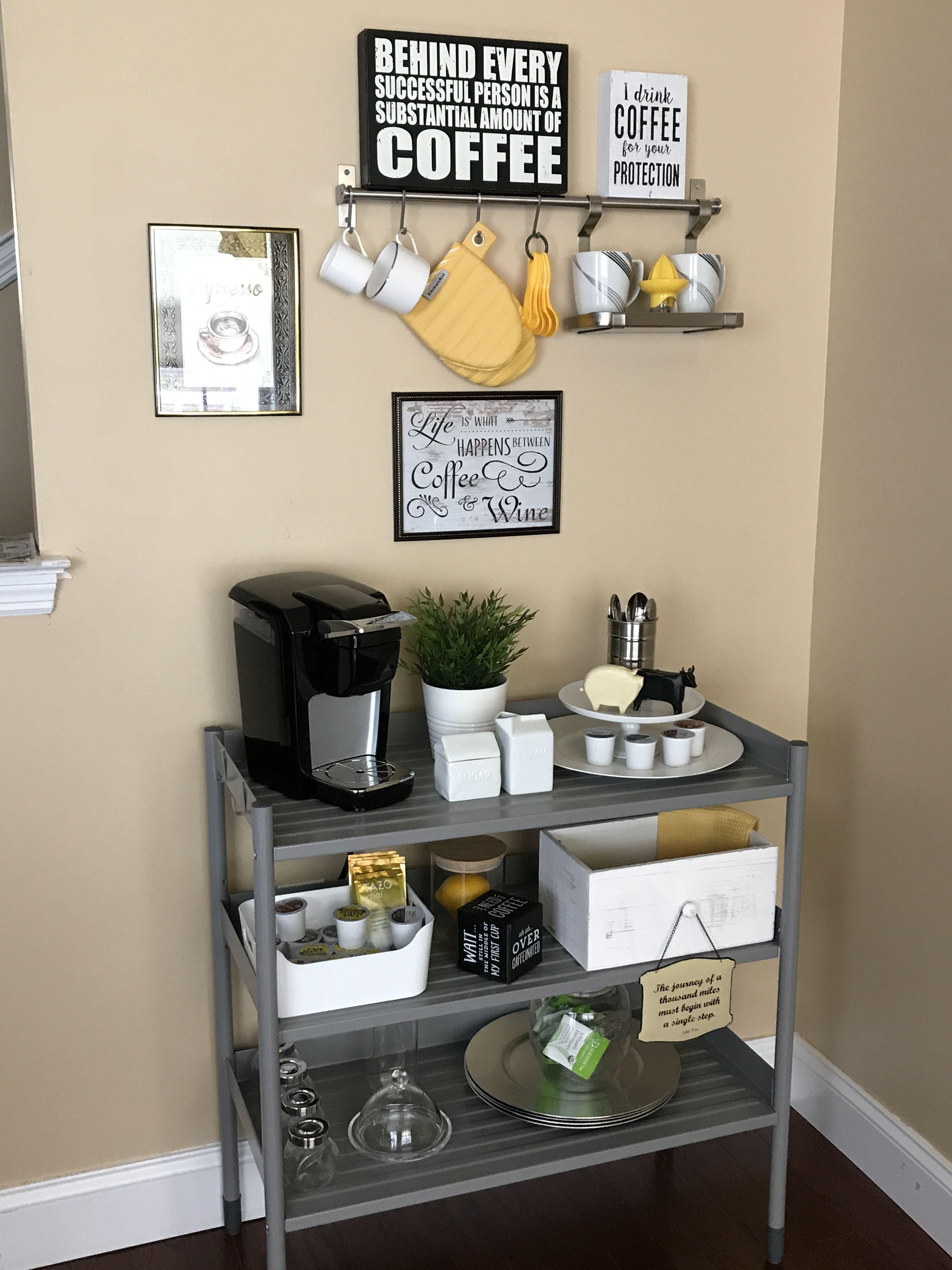 27 Creative Diy Coffee Bar Ideas For Your Cozy Home Diy Coffee