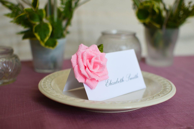 Wedding Place Cards Escort Cards Wedding Name Cards Custom Escort