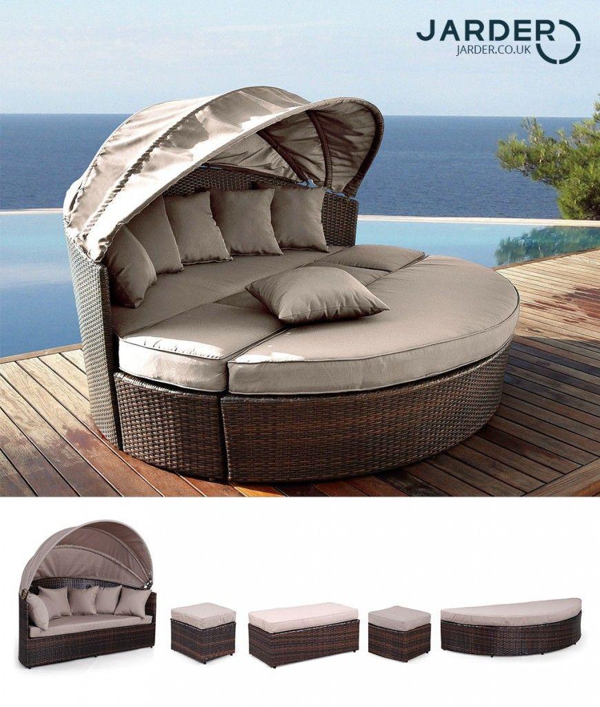 Venus Round Garden Sofa  Outdoor daybed, Garden sofa, Furniture