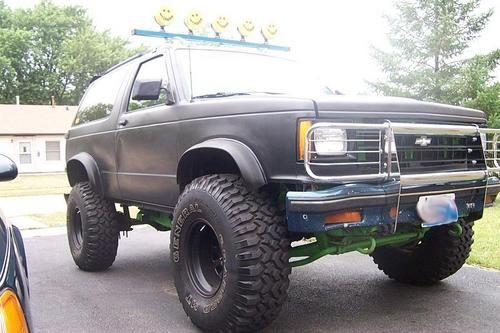 1990 Chevrolet S 10 Blazer Lifted Trucks Chevrolet S
