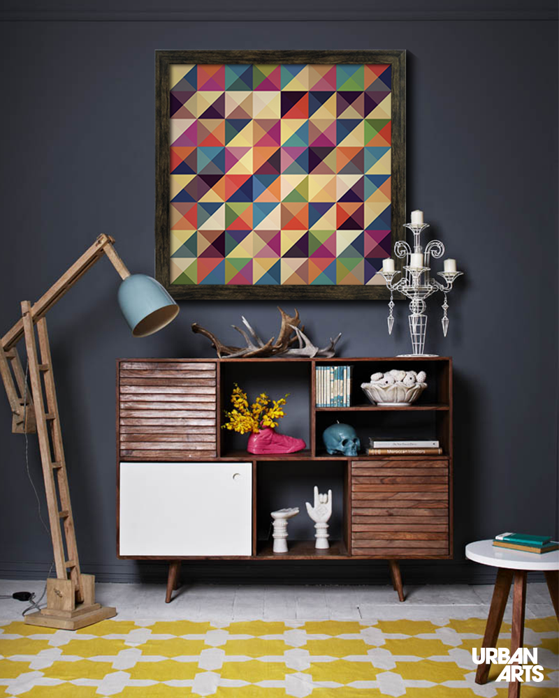 Ideia de decora o para sala de estar moderna e for Sala de estar quadro