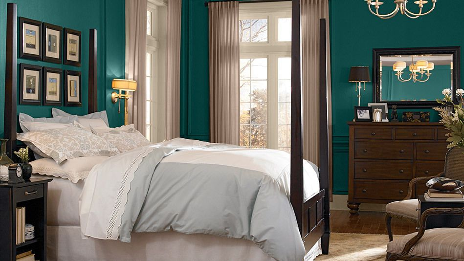 8 Incredible Paint Colors For Your Bedroom | Wood furniture, Woods ...