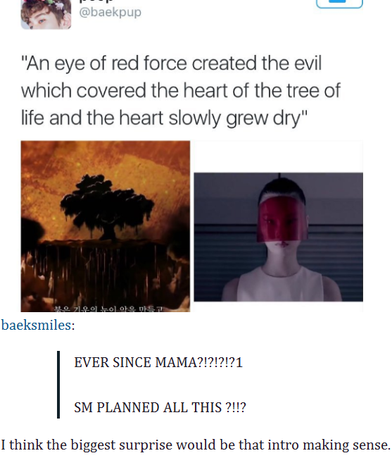 I Think The Intro To Exo S Mama Made Sense But This Is Still Funny Exo Memes Exo Mama Kpop Exo