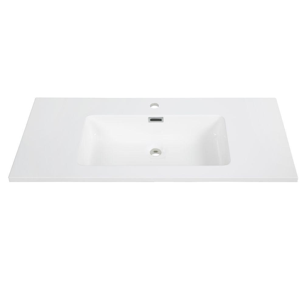 40 Inch Solid Surface Resin Streamline K 161 Slsitrc 40 Vanity Top Solid Surface Vanity Top Streamline
