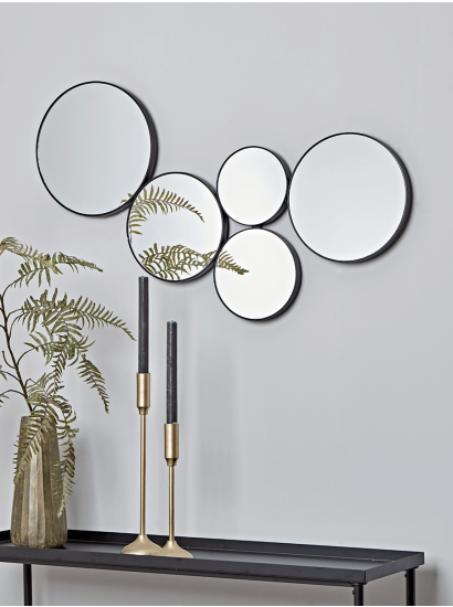 Best Small Circle Mirrors On Wall Living Room Mirror Design Wall