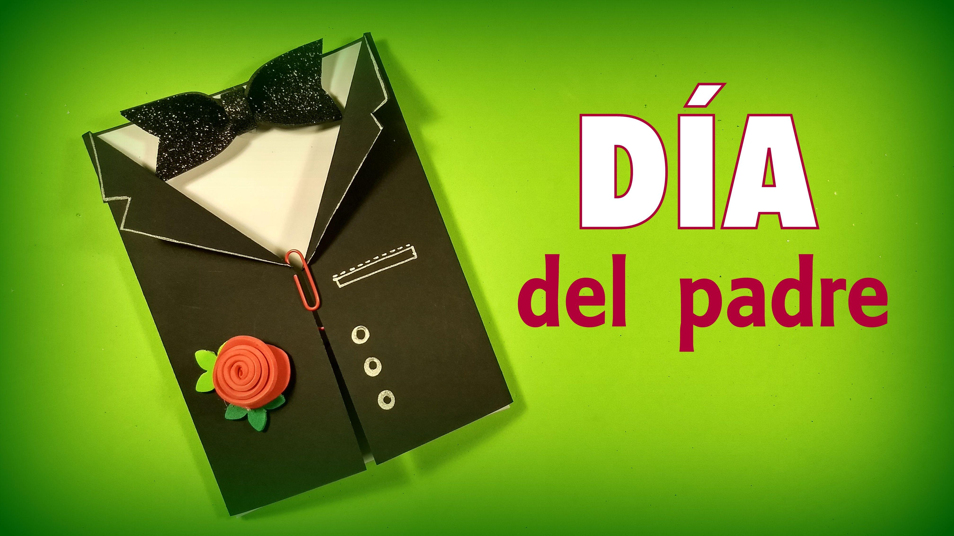 Tarjeta Elegante Para Celebrar El Día Del Padre Dia Del