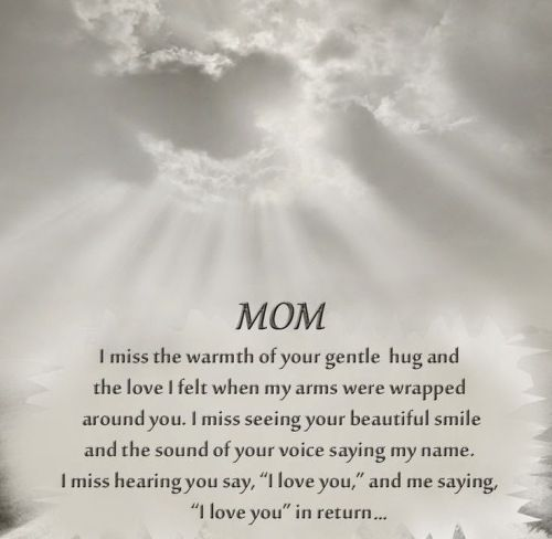 Mom In Heaven Poems 5