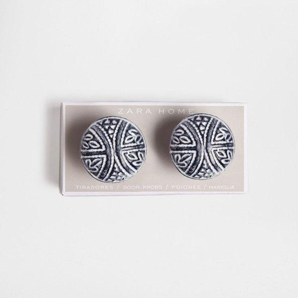 KNAUF AUS METALL MIT MOTIV DOPPELPACK Griffe Dekoration Zara Home