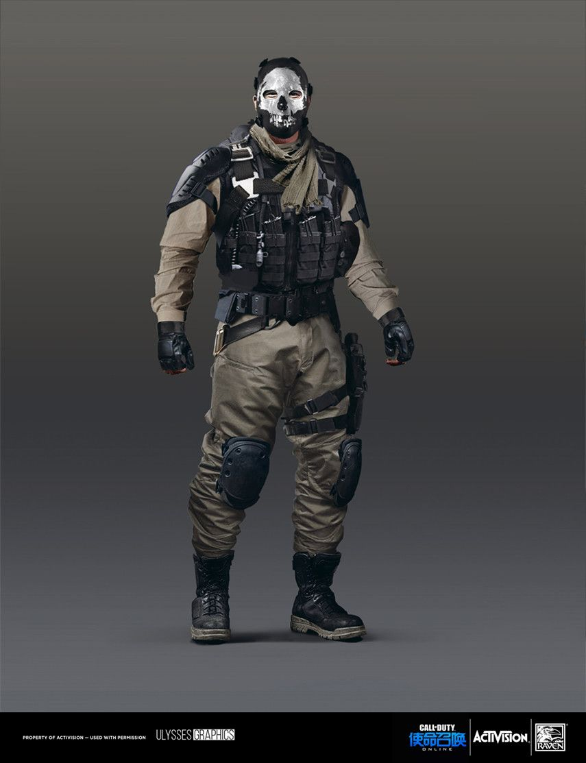 Tech 3 Special Operations Imperial Gaurd Military Outfit