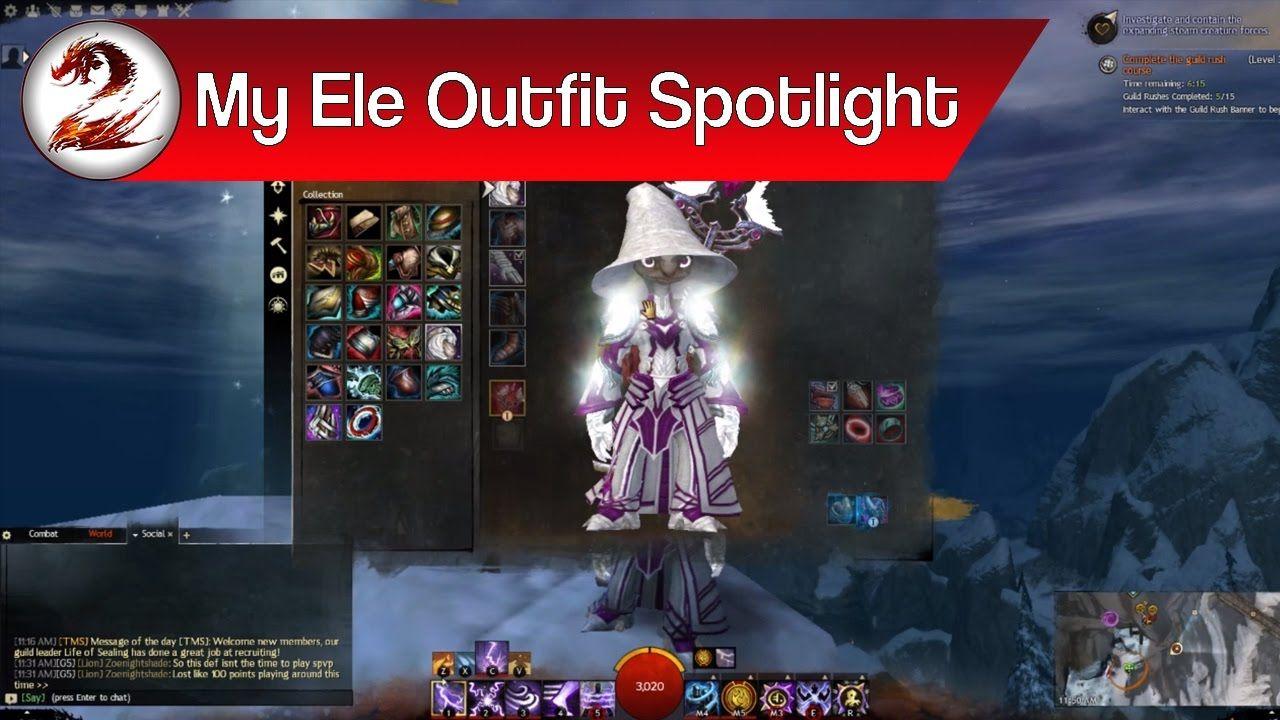 Guild Wars 2: Elementalist Fashion – My Best Elementalist Outfit