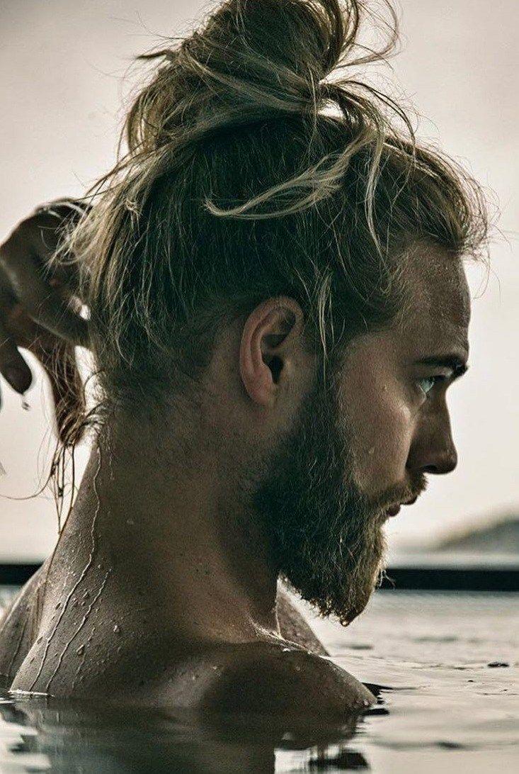 17 Latest Ponytail Hairstyle For Men Men S Hairstyle 2020 Man Bun Hairstyles Long Hair Styles Men Twist Braid Hairstyles