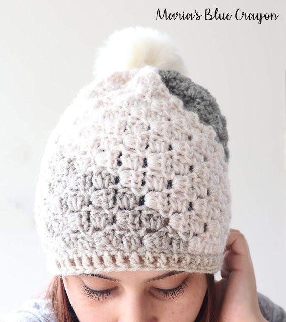 Don\'t Be A Square Beanie - Free Crochet Hat Pattern   Crochet ...