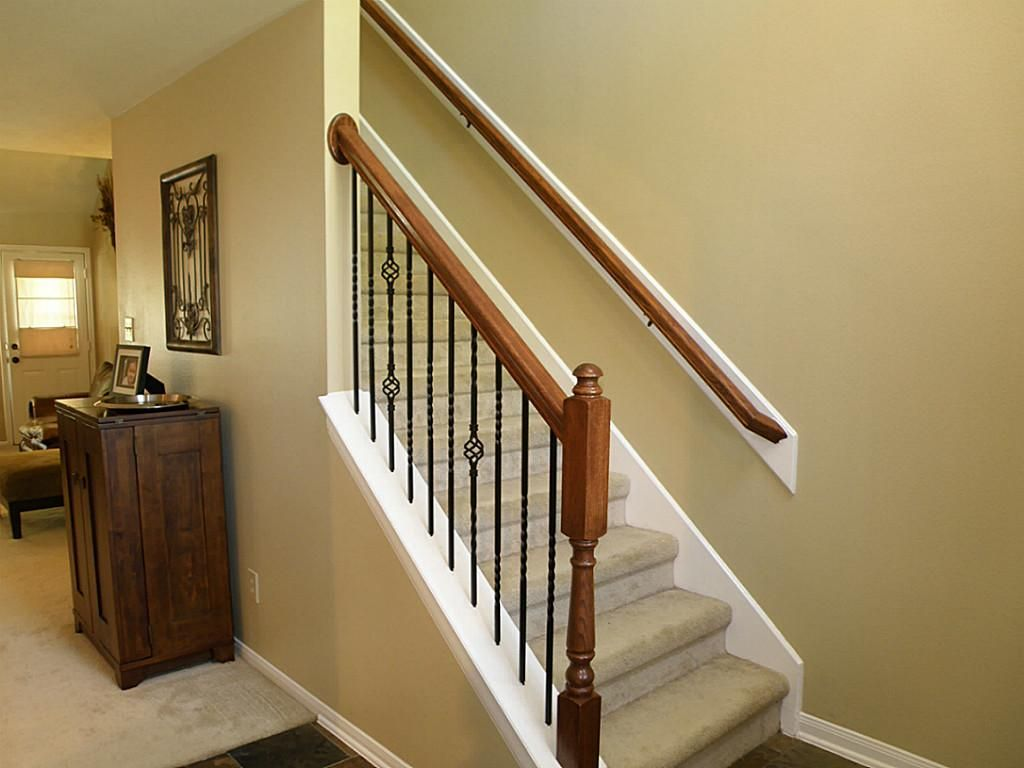 Incredible Staircase Spindles Ideas Wrought Iron Stair Spindles Home  Furniture Ideas