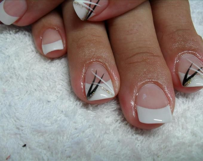 Nails For Wedding Guest Wedding Guest Nails Nail Art Designs Photos French Tip Nail Designs Black Wedding Nails Bride Nails