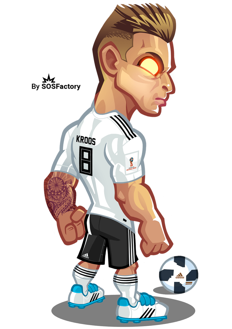 Worldcup Russia 2018 Mascotization Project In 2020 Football Player Drawing Football Drawing Football Pictures
