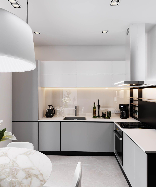 Small Square Kitchen Interior Design: 3 Modern Home Interiors Under 70 Square Metres (750 Square Feet)