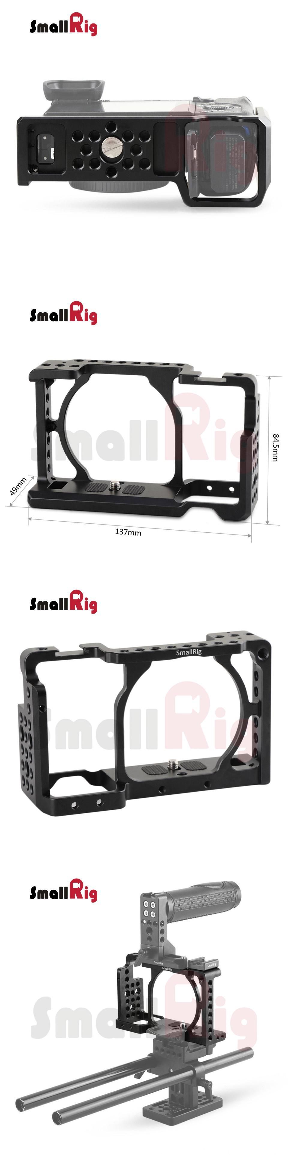 SmallRig Cage for Sony A6500 A6300 A6000 ILCE 6000 ILCE
