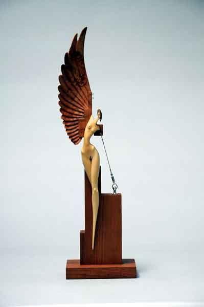 John Morris - extraordinary   wwwbungendorewoodworksau - moderne skulpturen wohnzimmer