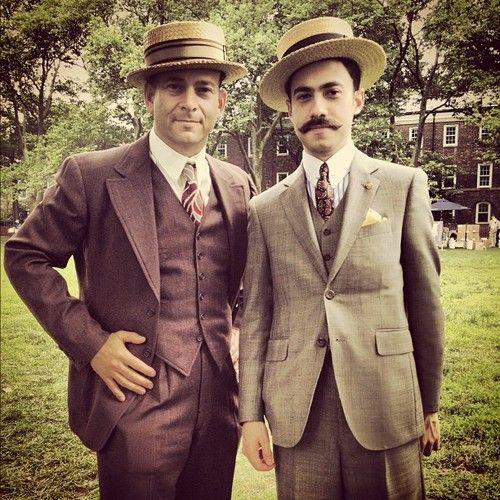 Well dressed gentlemen