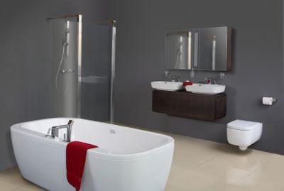Badezimmer Latexfarbe ~ Badezimmer streichen einrichten