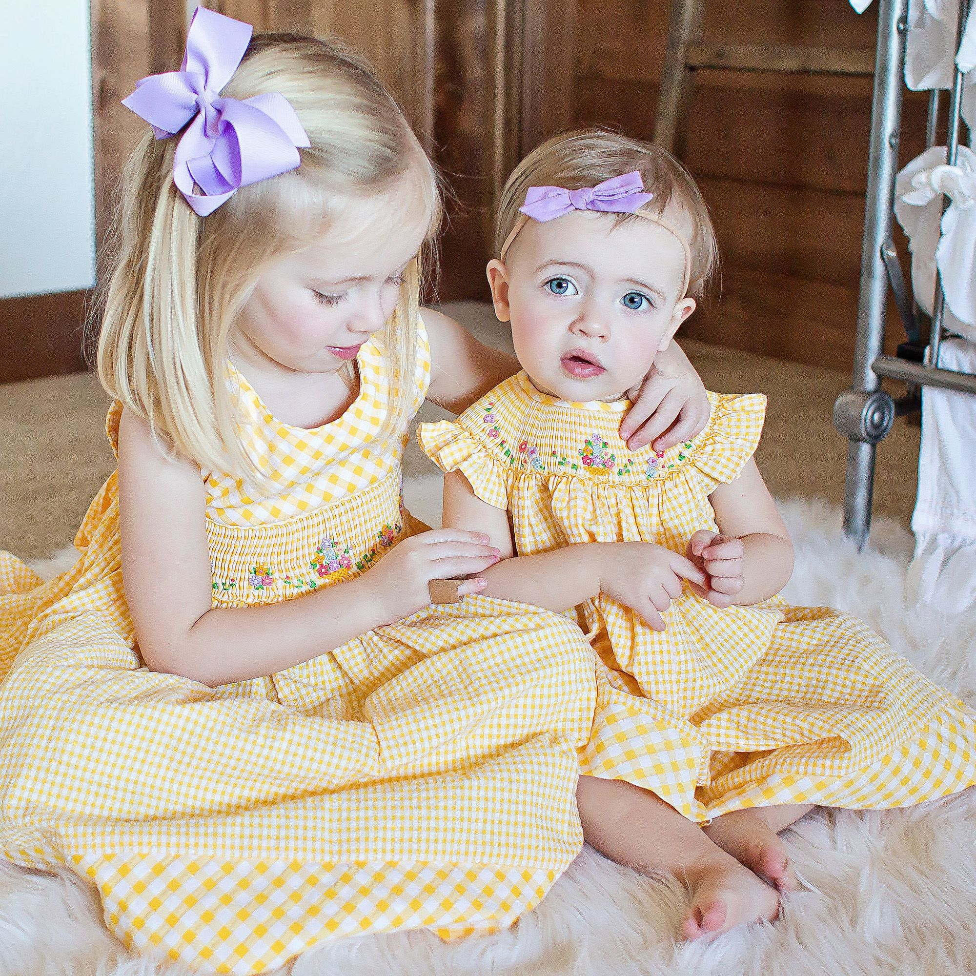 6df3bb204 Brighten up her summer wardrobe with these cute sister dresses from Luli &  Me. Shop via link in bio. #kidsfashion #sisterlove #babygirl #fahion ...