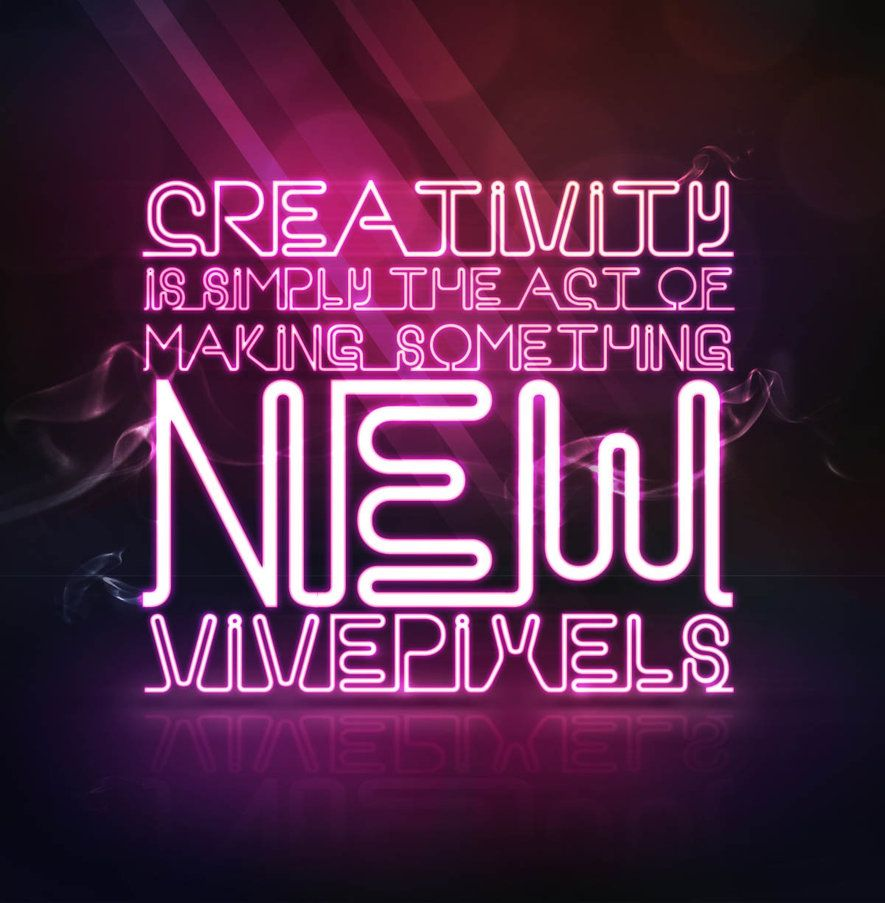 Neon letters digital google search digital paper printables photoshop 2 hours for tutorial visit link enjoy neon typography tutorial baditri Image collections