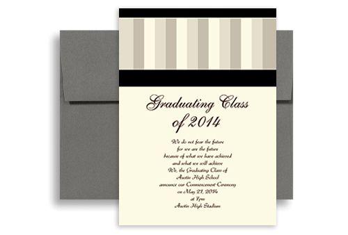 homemade graduation invatations 2014 Stripes Pattern Background