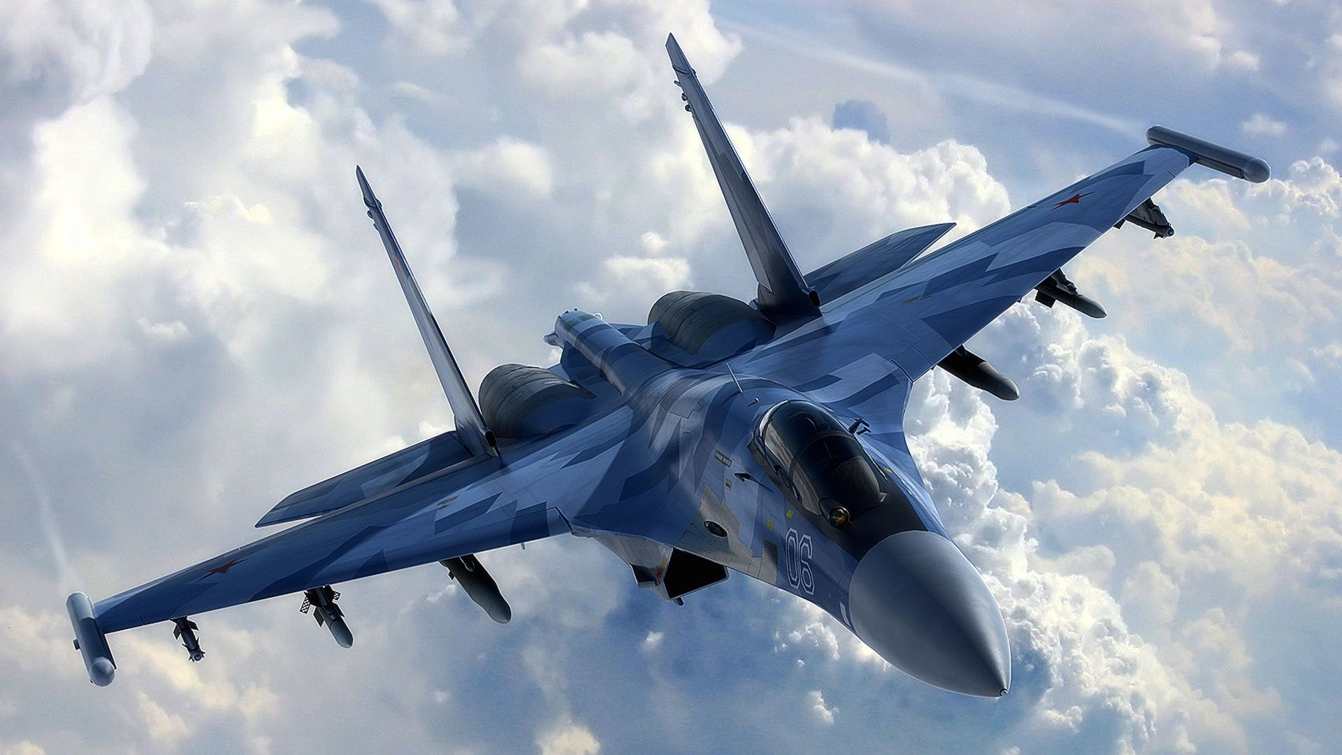 aircraft air superiority fighter fighters jet military sukhoi su-35