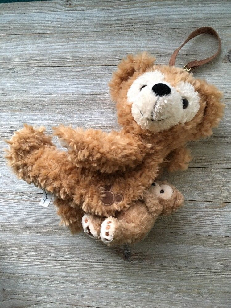 Disney Duffy Bear Plush Wristlet Bag Toy Purse Theme Parks 10