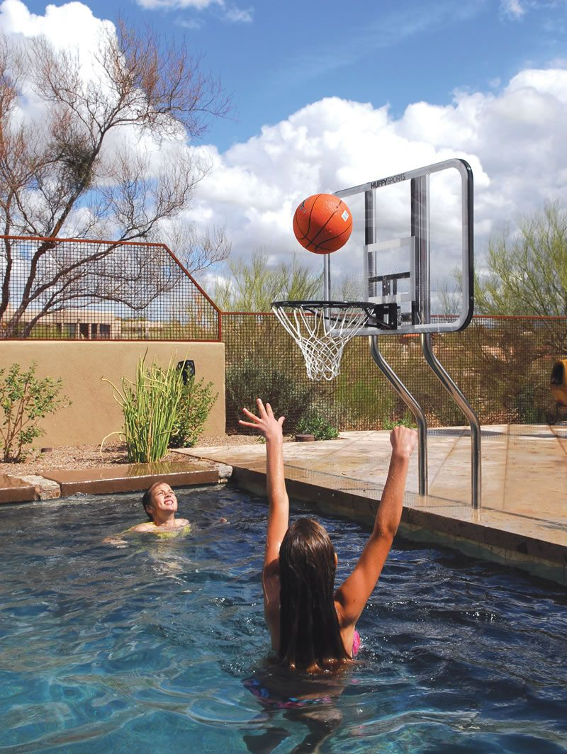 Pool basketball game set i 39 ll get this for stephen for Pool design game