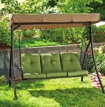 Remarkable Beale Street 3 Seat Swing From Kroger Atlanta 011 139 99 Inzonedesignstudio Interior Chair Design Inzonedesignstudiocom