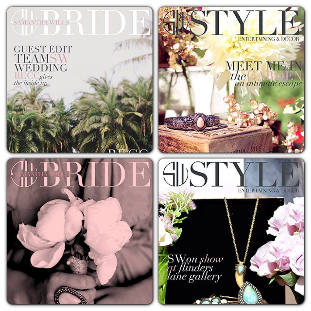 Magazine Style ~ My favourite magazine style is the SW Style mag, especially the SW Bride mag being a bride to be! I love how the pages are styled with lots of inspirational pictures. #SWSHAREYOURLIFE
