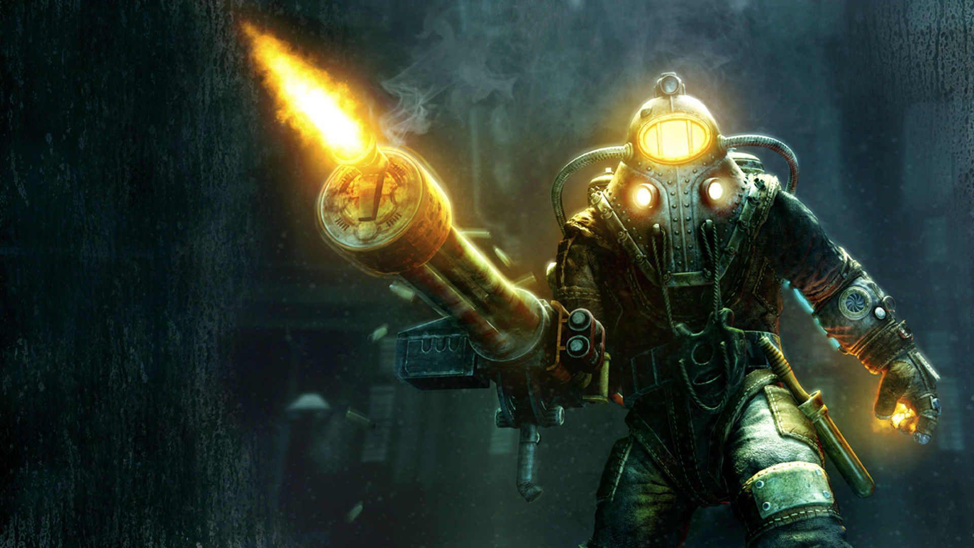 Big Daddy Alpha Series Bioshock Bioshock Bioshock Game