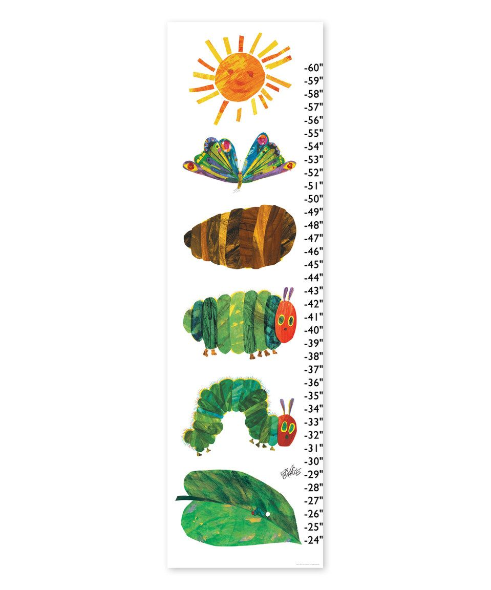 Loving this eric carle transformation growth chart on zulily loving this eric carle transformation growth chart on zulily zulilyfinds nvjuhfo Choice Image
