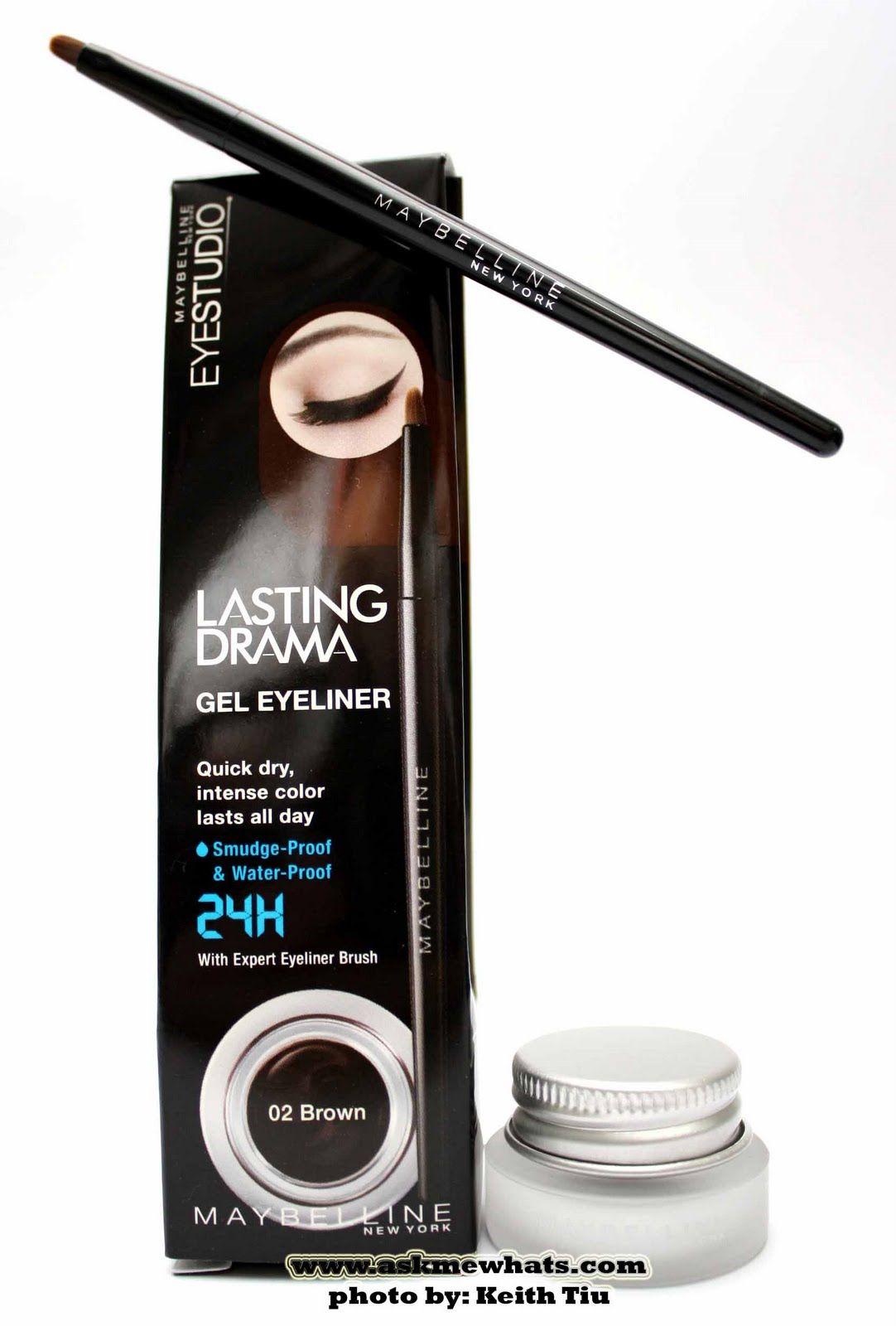 Maybelline Lasting Drama Gel Eyeliner In Dire Need Of Practise Maybelline Eye Studio Gel Eyeliner Gel Liner