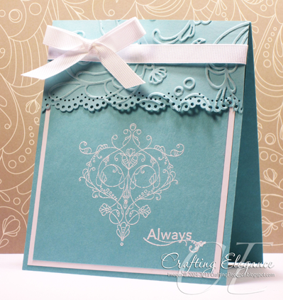 Always Elegant by crafting elegance - Cards and Paper Crafts at Splitcoaststampers