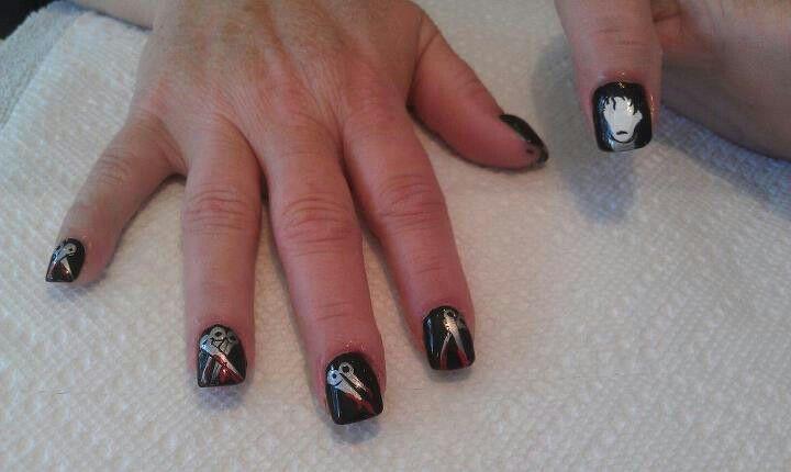 Edward Scissorhands Fashion Nails My Nails Nail Art