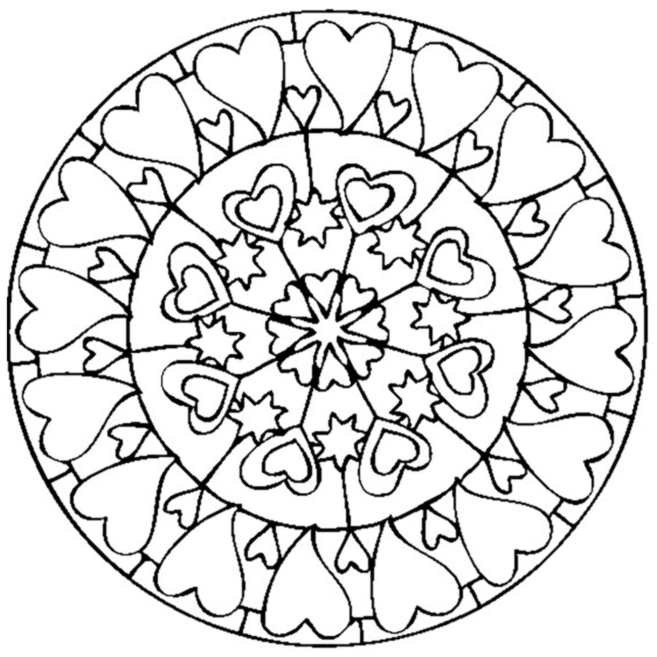The Love Mandala ! Perfect for Valentine\'s DayFrom the gallery ...
