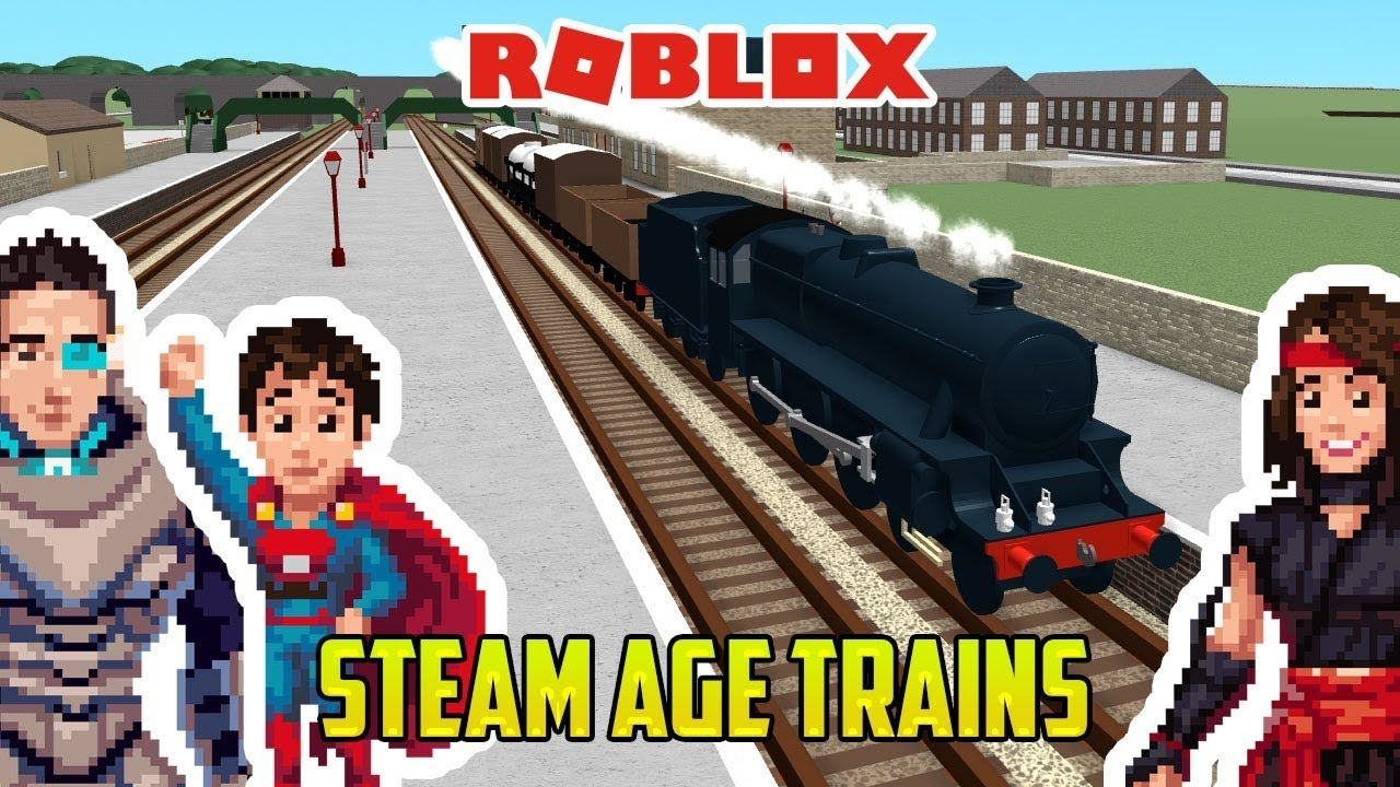 Roblox Steam Age Fun Toy Trains For Kids Thomas And - roblox thomas and friends trains