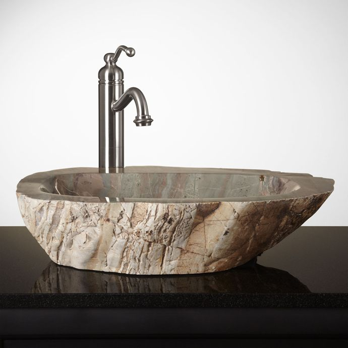 15 Unique Bathroom Natural Stone Sinks | Natural stones, Sinks and ...