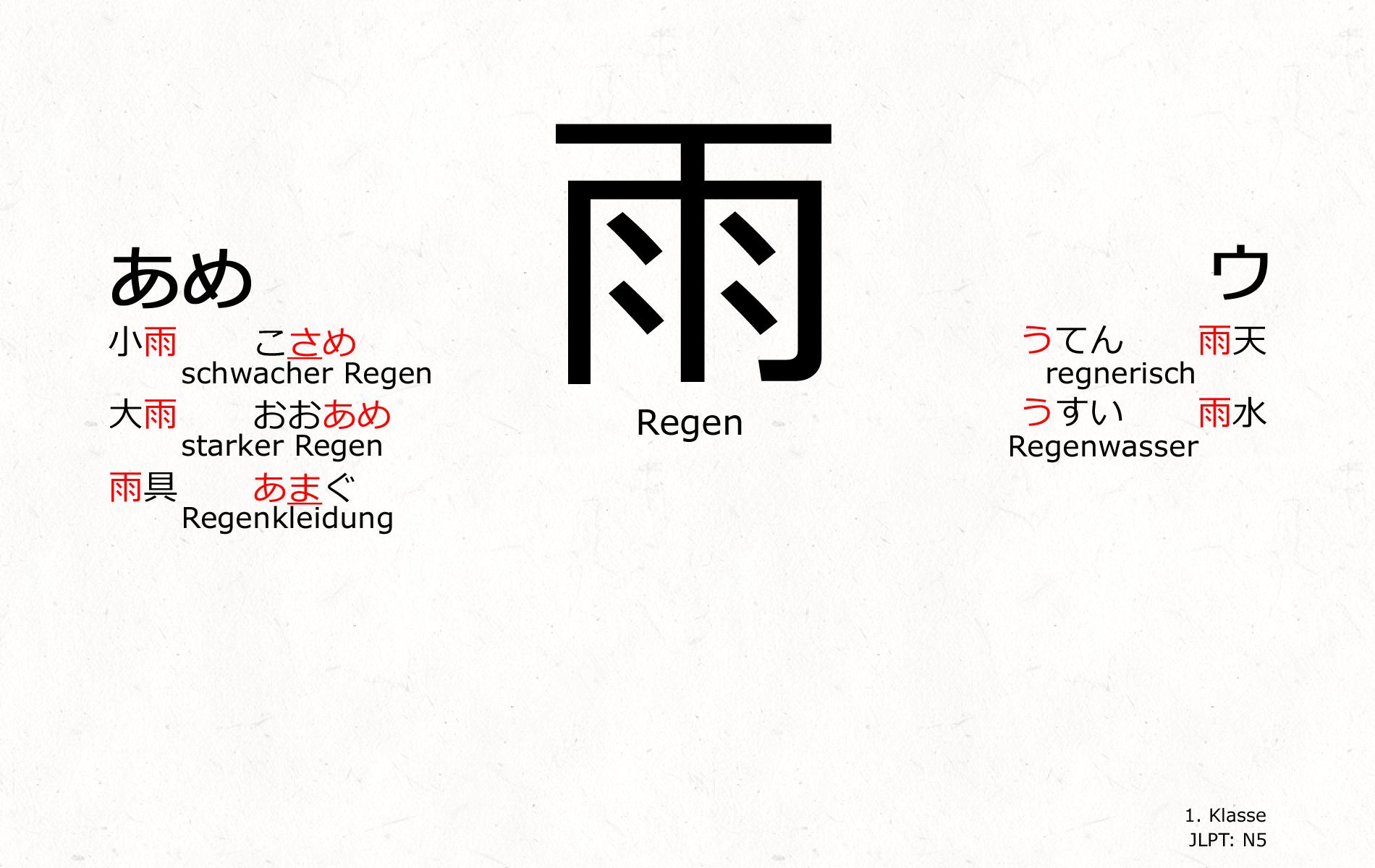 Japanisch kanji regen kanji wallpaper pinterest regen und