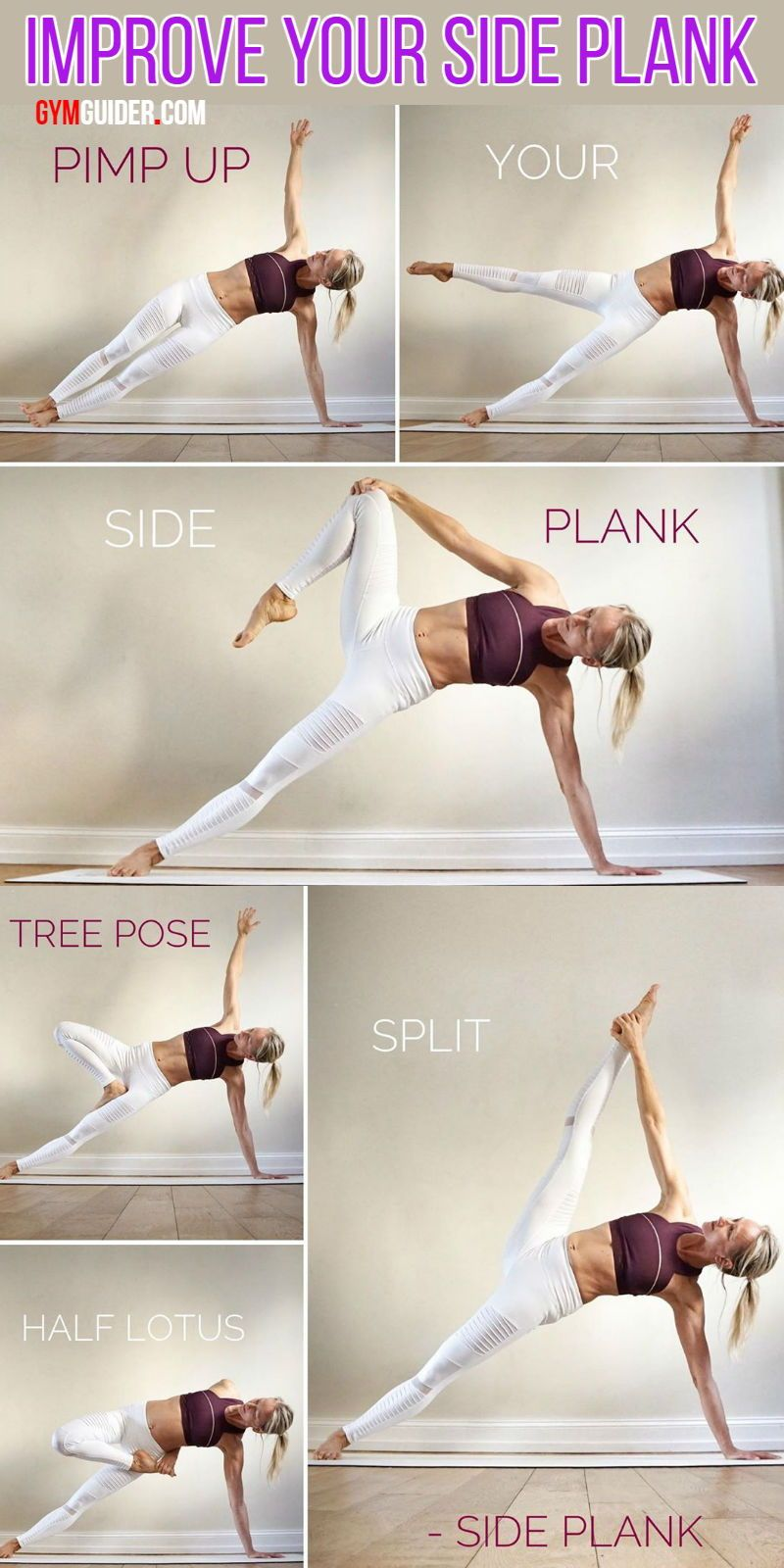 4 Fun Side Plank Variations For A Stronger Core -