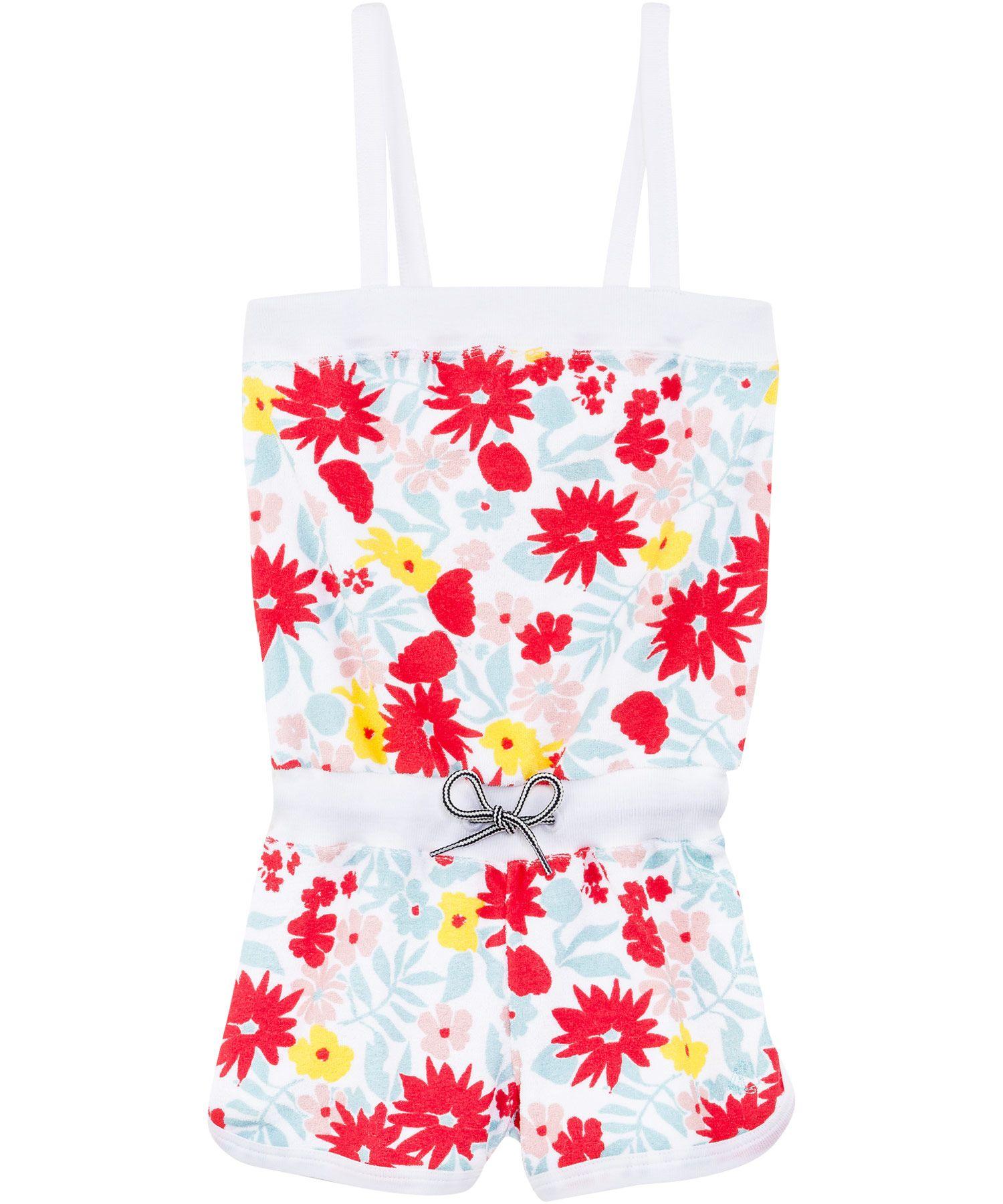 Petit Bateau fantastisch sponzen jumpsuit met bloemetjes #emilea