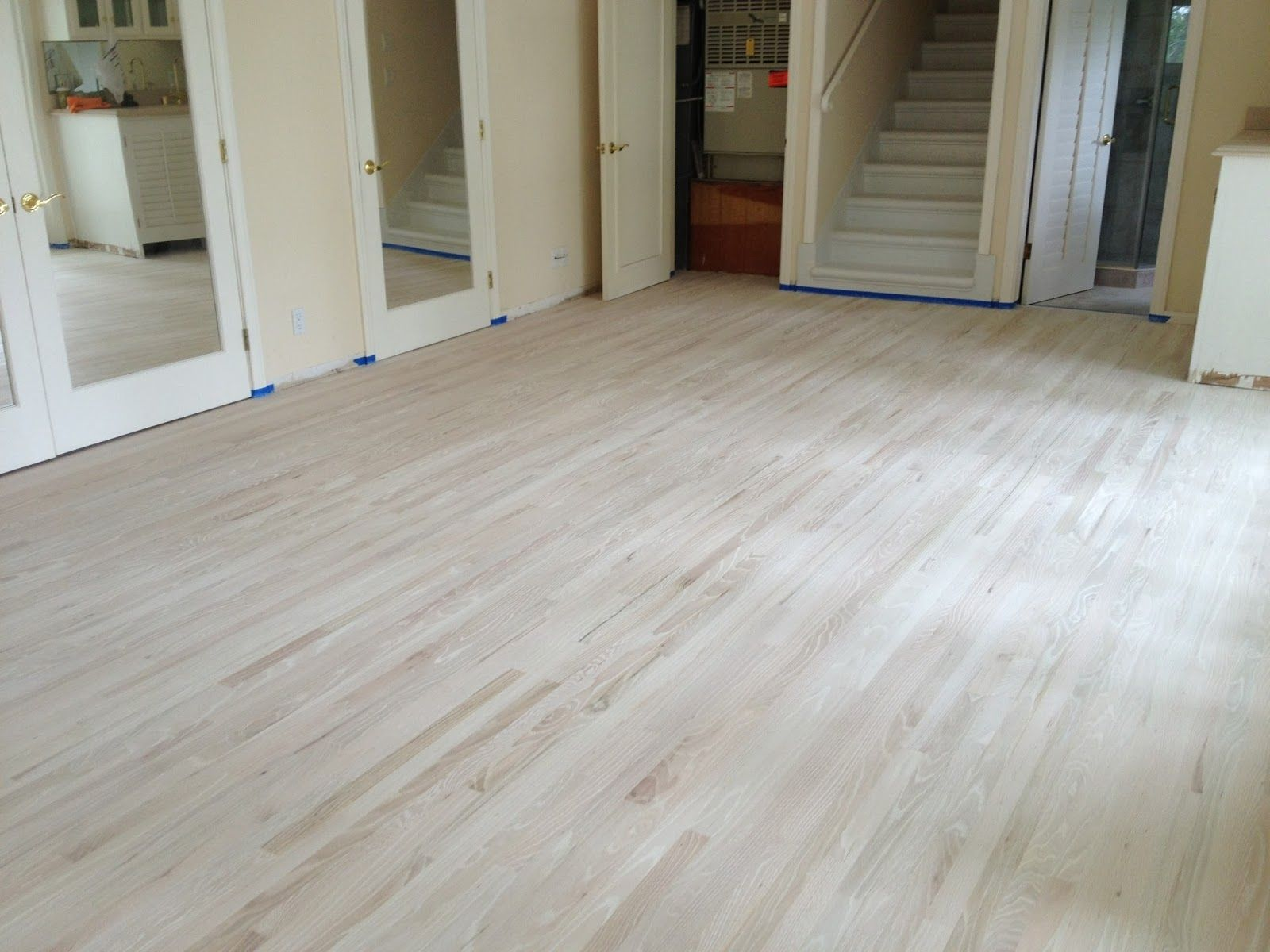 Chlorine Bleach Wood Floors Diy Home White Hardwood